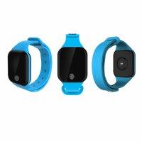 Bratara fitness TechONE™ X5S GetFit 2.0, puls, BT 4.0, OLED 1.26 inch,  notificari, temperatura, altitudine, barometru, albastru