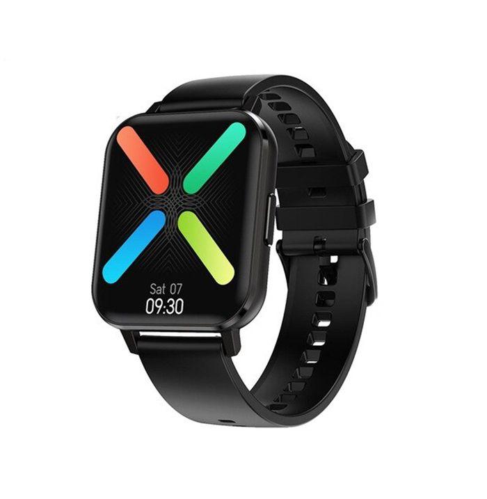 Ceas smartwatch TechONE™ DTX, ecran mare 1.78 inch Full HD, rezistent la apa IP68, senzor Bosch, bratara fitness, Notificari, Vibratii, stand by 7 zile, sporturi multiple, compatibil Samsung, Huawei, Apple, Android, iOS, negru