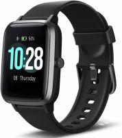 Ceas smartwatch TechONE™ ID205L 1.4 inch Touchscreen, multi sport, stand by 30 zile, compatibil bluetooth 5.0, ritm cardiac, rezistent la apa, masuratori ultra precise, notificari, vibratii, test respiratie, apel bluetooth, negru