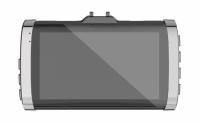 Camera auto dubla DVR Loosafe™ RoadTeam T685, 3 inch IPS, Touch, unghi 170, FullHD 1080p 30fps, camera marsarier, inregistrare ciclica, mod parcare, pentru parbriz, senzor miscare, negru