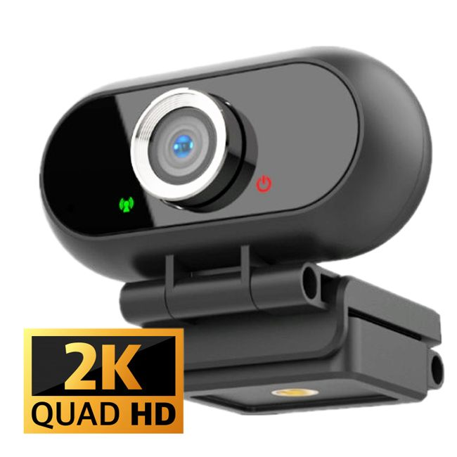 Camera web Loosafe™ Conference Pro, Autofocus Digital, 4MP FullHD, SuperFocus, Ultracompact, unghi 110 grade, 30FPS, anulare zgomot de fond, plug & play, posibilitate montare trepied negru