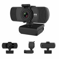 Camera web, Loosafe™ MP06, 2K 4MP, 30FPS, rezolutie 2560 x 1440 anulare zgomot de fond, capac securitate, rotatie 360, filet trepied, negru