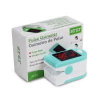 Pulsometru / Oximetru Techone® S05-SR501, ceritificat, ecran LED, nivelul saturatie oxigen sange, masoara rata pulsului, display LCD, timp masurare 8 sec, conform cu directiva medicala CE93/42/EEC, verde