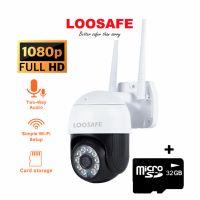 Camera de supraveghere WIFI Loosafe® YH-813 Pro, 2MP, de exterior sau interior, Full HD 2K, 4X zoom, rotire din aplicatie, leduri lumina, comunicare bidirectionala, stocare pe card sau in cloud, senzor miscare, aplicatie YI IoT