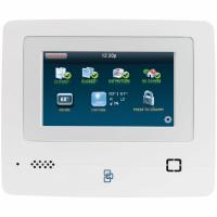 Sistem de alarma wireless Wale® JT-10TW, 11 senzori, control aplicatie Tuya, acumulator inclus, programabila armare/dezarmare, senzor miscare, senzor usa, sirena, telecomanda, pentru casa, birou, apartament, alb