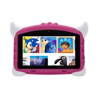 Tableta copii Techone® K702, 7 inch HD IPS,  Quad Core, A50 Qual core 1.2Ghz, 1GB RAM, 16GB memorie stocare, Android 8.1, Bluetooth 4.0, camera foto fata/spate, difuzor stereo, carcasa anti-soc, roz