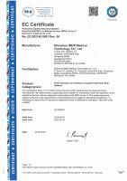Pulsoximetru Horigen® C101A2, ceritificat, ecran OLED, nivelul saturatie oxigen sange, masoara rata pulsului, semnal sonor, setari meniu, timp masurare 8 sec, pletismograma, conform cu directiva medicala CE93/42/EEC, negru