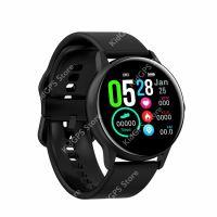 Ceas smartwatch TechONE™ DT88, 1.2 inch IPS, multi sport, bluetooth 4.2, ritm cardiac, oxigen, rezistent la apa IP67, notificari, vibratii, senzor Bosch, negru