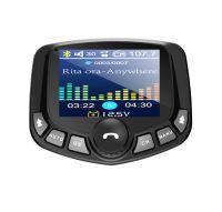 Modulator FM auto Loosafe® FM38, display color 1.8 inch, microSD, dual quickcharge 3.0, aux in, handsfree, negru