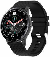Ceas smartwatch TechONE™ DT95, 1.3 inch IPS HD, multi sport, apel bluetooth, agenda, ritm cardiac inteligent, EKG, rezistent la apa IP68, difuzor, notificari, vibratii, negru