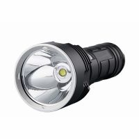Lanterna LED Techone® SK1920, din aluminiu, sursa XHP70.2 Ultra-Bright, profesionala, focus ajustabil, acumulator inclus, rezistenta la apa, incarcare USB, 3500 lumeni, negru