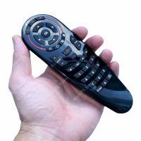 Telecomanda airmouse Runmus® G30, Google Assistant, microfon, compatibil TV box, televizor, invatare taste, negru