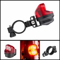 Stop bicicleta inductie magnetica Huerler® KXK-02, 2 x XPE LED, rezistent la apa, acumulator 50mAh, Auto incarcare, negru