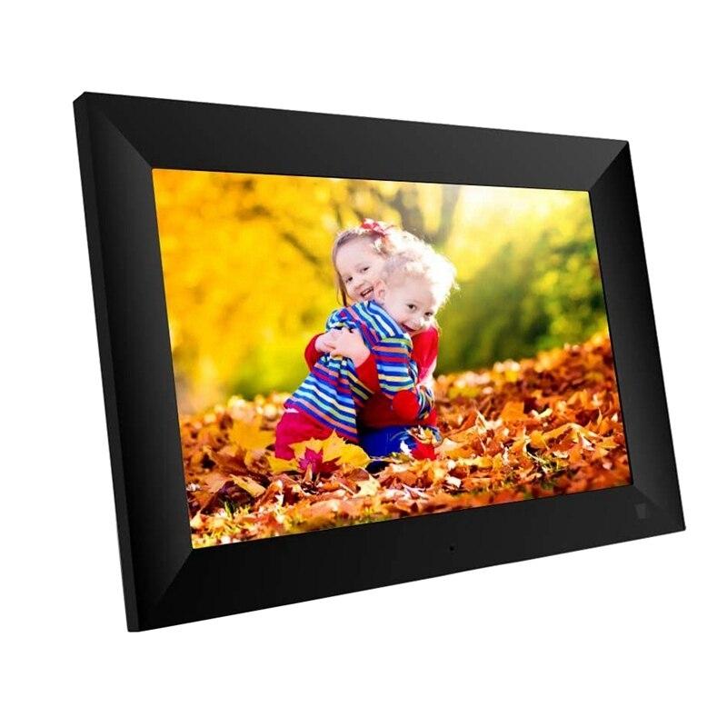 Rama foto digitala WIFI Techone® ZN-DP1002, 10 inch, touchscreen 800x1280 HD IPS, aplicatie Frameo, slot USB, card SD, poze/video, difuzor, negru