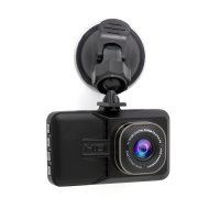 Camera auto DVR TechONE™ RoadTeam W802 Pro, True HD, night vision, carcasa metalica, 3 inch, unghi de filmare 170 grade, tehnologie WDR, negru