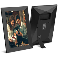 Rama foto digitala WIFI Techone® ZN-DP1002, 10 inch, touchscreen 800x1280 HD IPS, aplicatie Frameo, slot USB, card SD, poze/video, difuzor, negru