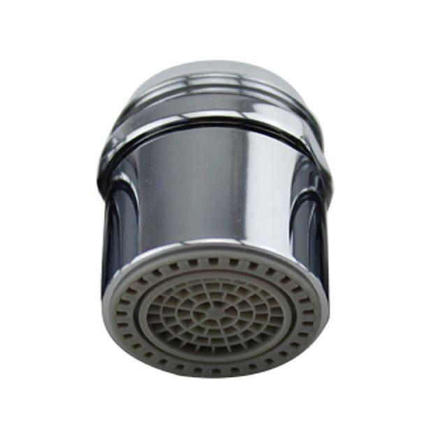 Aerator apa Topaqua® SK-WS807, functie economizor, filtrare, miez ceramic, doua moduri dus/bule, dimensiune M24 tata, debit 4.5 L/min, cromat, argintiu