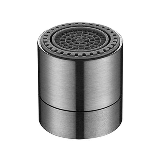 Aerator apa Topaqua® SK-SU807, functie economizor, filtrare, miez ceramic, doua moduri dus/bule, dimensiune M22 mama, debit 4.5 L/min, argintiu