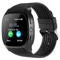 Resigilat Ceas smartwatch TechONE® T8, sim, BT, camera 2MP, ecran 1.56