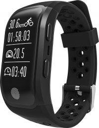 Resigilat Bratara fitness TechONE™ S908, GPS, IP68, puls dinamic, ultra long stand by, Android, iOS,, notificari, negru