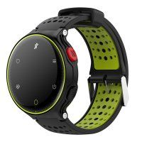 Resigilat Bratara fitness TechONE™ X2Plus, color, IP68, ritm cardiac, multi sport, pedometru, notificari, vibratii, negru