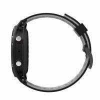 Resigilat Ceas smartwatch TechONE™ F5 Pro, GPS, puls, altitudine, barometru, termometru, submersibil, pedometru, notificari, negru