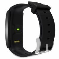Resigilat Bratara fitness TechONE™ FitGear A58,  BT 4.0, puls, tensiune, oxigen, nivel oboseala, stand-by 20 zile, Android, iOS, notificari, remote camera, negru