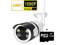 Resigilat Camera de supraveghere WIFI Loosafe® SS-352, Full HD 1080p, de exterior, Night vision, senzor miscare, alb