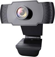 Resigilat Camera web, SriHome™ SH003 Pro, FullHD 2MP, unghi 90 grade, suport rotativ 360 grade, 30FPS, anulare zgomot de fond, rotire, plug & play,  negru