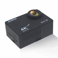Resigilat Camera Video Sport TechONE® F60R 4k@30fps, Wifi, 2'LCD, telecomanda, accesorii, carcasa waterproof, negru