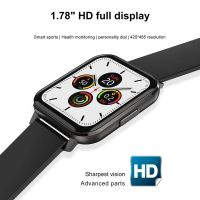 Resigilat Ceas smartwatch TechONE™ DTX, ecran mare 1.78 inch Full HD, rezistent la apa IP68, senzor Bosch, bratara fitness, Notificari, Vibratii, stand by 7 zile, sporturi multiple, compatibil Samsung, Huawei, Apple, Android, iOS, negru