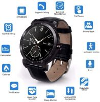 Resigilat Ceas smartwatch TechONE™ K88H Plus, full touch IPS 1.3 inch, ecran HD, ritm cardiac, functie telefon, agenda, notificari, slim, negru