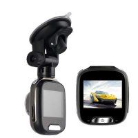 Resigilat Camera auto DVR Loosafe™ RoadTeam M008, 2 inch, FullHD, metalica, auto ON/OFF, unghi 170 de grade, monitor parcare, inregistrare in bucla, gri