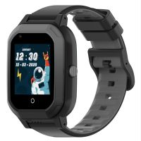 Ceas smartwatch GPS copii Techone™ KT20 4G, 1.4 inch OGS, apel video, camera ultrapixel, Wi-Fi, rezistent la apa IP67, telefon, bluetooth, SOS, touchscreen, monitorizare spion, carcasa detasabila, Negru
