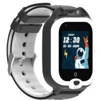 Ceas smartwatch GPS copii Techone™ KT22 4G, 1.4 inch OGS, apel video, camera ultrapixel, Wi-Fi, rezistent la apa IP67, telefon, bluetooth, SOS, touchscreen, monitorizare spion, carcasa detasabila, Negru