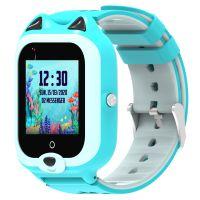 Ceas smartwatch GPS copii Techone™ KT22 4G, 1.4 inch OGS, apel video, camera ultrapixel, Wi-Fi, rezistent la apa IP67, telefon, bluetooth, SOS, touchscreen, monitorizare spion, carcasa detasabila, Albastru