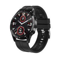 Ceas smartwatch TechONE™ T30, 1.3 inch HD, multi sport, apel bluetooth, ritm cardiac, oxigen, rezistent la apa, notificari, vibratii, senzor Bosch, negru