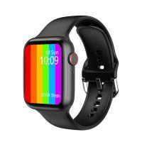 Ceas smartwatch TechONE™ W26, 1.75 inch IPS, multi sport, apel bluetooth, ritm cardiac, oxigen, temperatura, rezistent la apa, notificari, senzor Bosch, negru