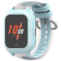 Ceas smartwatch GPS copii Techone™ TKY-A19 4G, 1.4 inch OGS, apel video, camera HD, buton SOS, bluetooth, wifi, rezistent la apa, blocare apel, monitorizare spion, albastru