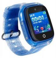 Resigilat Ceas smartwatch copii cu GPS TechONE™ KT01, WiFi + localizare foto, submersibil, telefon, buton SOS, Albastru