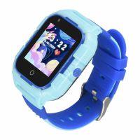 Ceas smartwatch GPS copii Techone™ TKY-FG12 4G, 1.4 inch, apel video, camera HD, Android, buton SOS, bluetooth, wifi, rezistent la apa, blocare apel, monitorizare spion, albastru