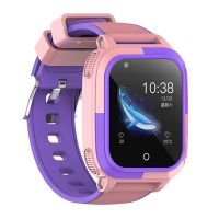 Ceas smartwatch GPS copii Techone™ TKY T58 4G, 1.4 inch, apel video, camera HD, Android, buton SOS, bluetooth, wifi, rezistent la apa, blocare apel, monitorizare spion, roz