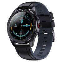 Resigilat Ceas smartwatch TechONE™ SN88, 1.3 inch TFT HD, multi sport, bluetooth 5.0, ritm cardiac, oxigen, GPS, rezistent la apa IP68, notificari, vibratii, apel bluetooth, senzor Bosch, stand by 20 zile, negru