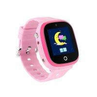 Ceas GPS copii cu GPS TechONE™ GW400X, WiFi, submersibil, camera foto, telefon, buton SOS, roz