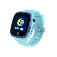Ceas GPS copii cu GPS TechONE™ GW400X, WiFi, submersibil, camera foto, telefon, buton SOS, albastru