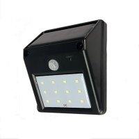 Lampa solara Huerler™ LED COB, 550 lumeni, senzor de miscare si lumina, 1200mAh, negru