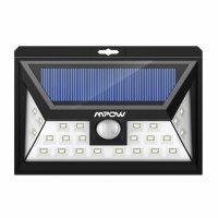 Lampa solara Huerler™ 57 LED-uri, 800 lumeni, rezistena la apa, senzor de miscare si lumina, unghi luminare 120 grade, 4 moduri de iluminare inteligente, 2200mAh, negru