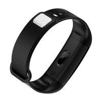 Bratara fitness TechONE™ Y5, puls dinamic 24h, oxigen, mod sport, color, respingere apel, rezistenta la apa ip67, notificari, negru
