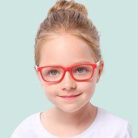 Ochelari de protectie calculator, Techone® F8140, din silicon, flexibili, blocare lumina albastra, pentru jocuri, PC, TV , anti-oboseala si strlucire UV, pentru copii, mov