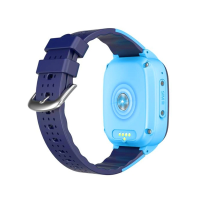 Ceas smartwatch GPS copii Techone™ LT25 4G, 1.4 inch, temperatura copil, apel video, camera HD, Android, buton SOS, bluetooth, wifi, rezistent la apa, blocare apel, monitorizare spion, Albastru